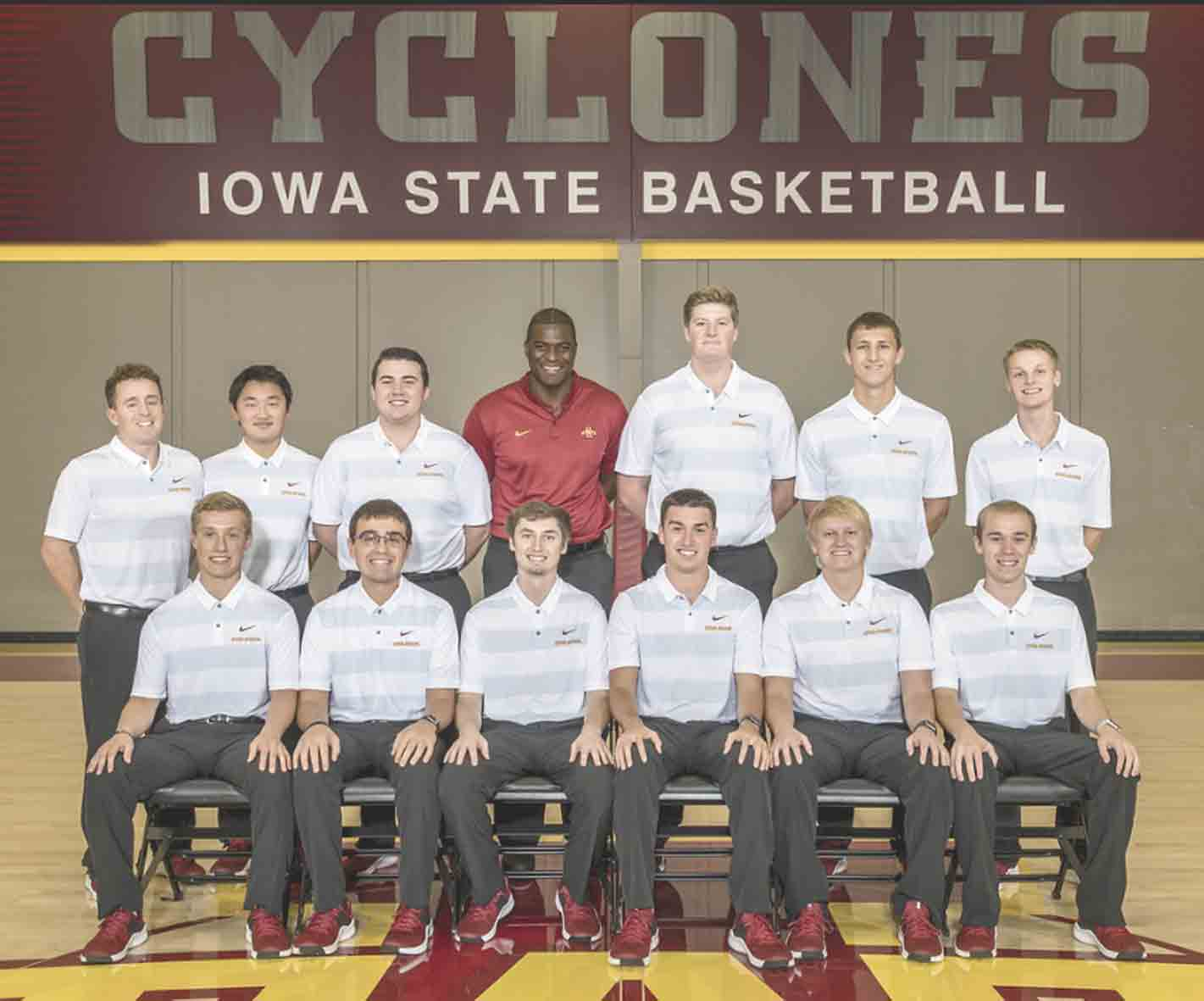 This winter, South Winneshiek alum Joel Hanson (back row, far right) joined the team of managers for the Iowa State Cyclones men's basketball team. The sophomore student, who is also a lifelong fan of the 'Clones, joins the team and coaches at every single practice and home game...