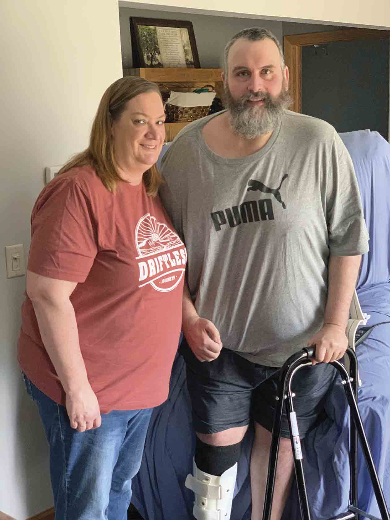 For Spillville's Becky and Jeremy Walz and their family, the past year has been one of the most difficult as Jeremy suffered a stroke in March that left him fighting for his life. Despite the many challenges encountered, the family is extra thankful this holiday season to be able to celebrate...