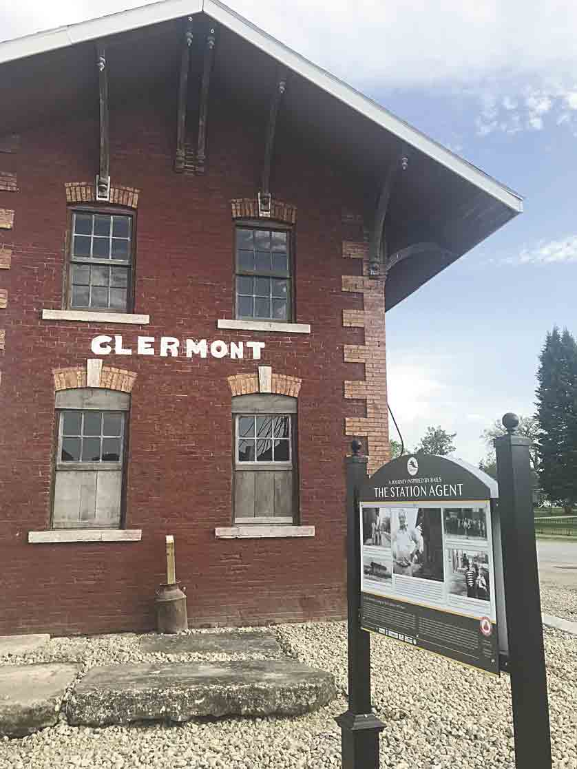 Clermont Depot (photo by LeAnn Larson)Clermont Depot open houseThe Clermont Depot will host an open house on Monday, May 27, immediately following Memorial Day ceremonies in Clermont.Members of the public will be able to see the work that...