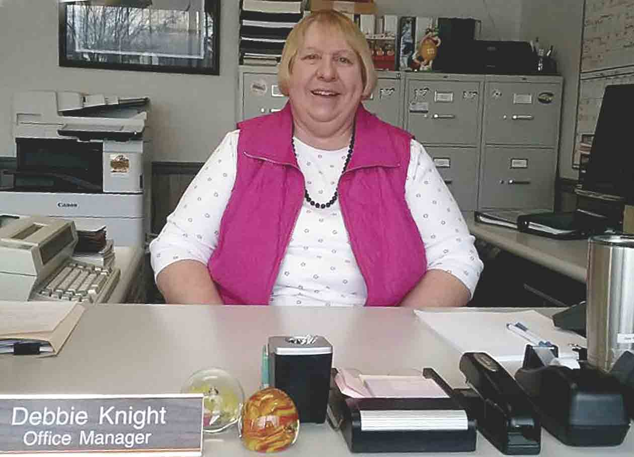 """Debra Knight is employed with Federal Hybrids, Inc., and the Sunrise Group, Inc., in Elgin where she serves as office manager.Does office manager Knight help the """"Sun rise""""?Vicki RowlandContributing WriterDebra Knight is..."""