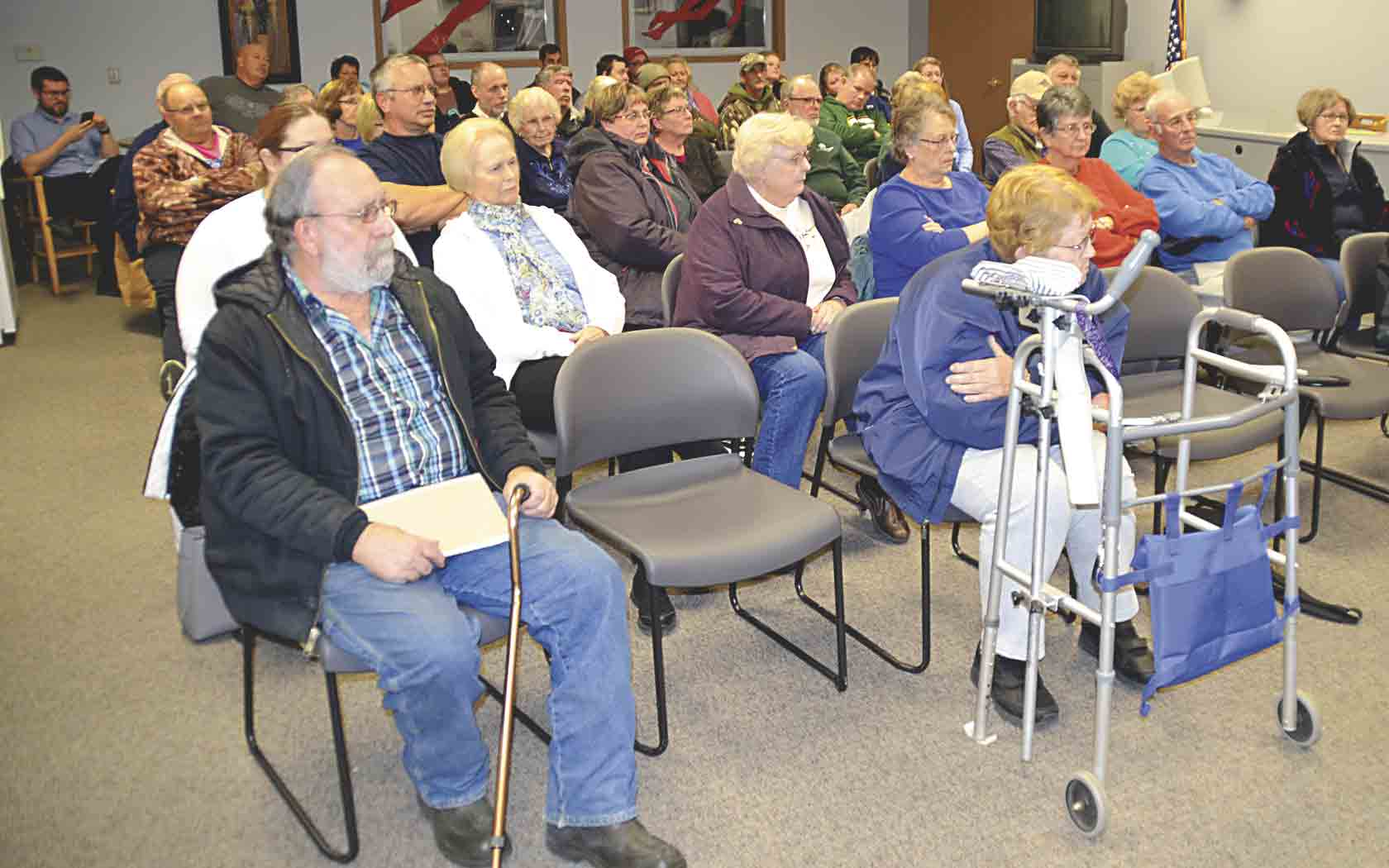 Over 50 Fayette residents attended the Fayette Planning and Zoning Commission meeting on Thursday, Nov. 9, at Fayette Community Library. Many of the residents voiced their concerns over rezoning a residential lot, located at 503 W. Water Street, to commercial for the building of a Dollar...