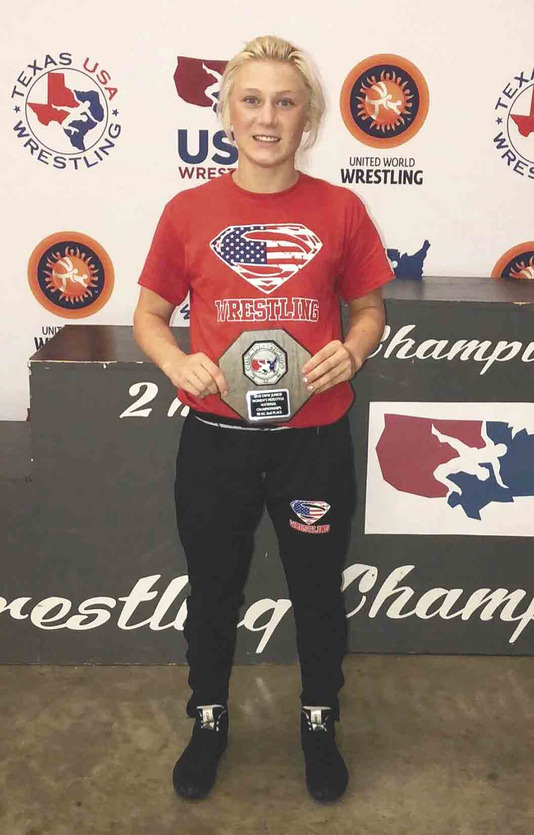 South Winneshiek senior Felicity Taylor recently competed at the Junior Women's Freestyle Wrestling World Team Trials in Irving, Texas, less than 18 hours after qualifying in four events for the Iowa High School State Track and Field Meet. Taylor placed second at 50 kilograms,...