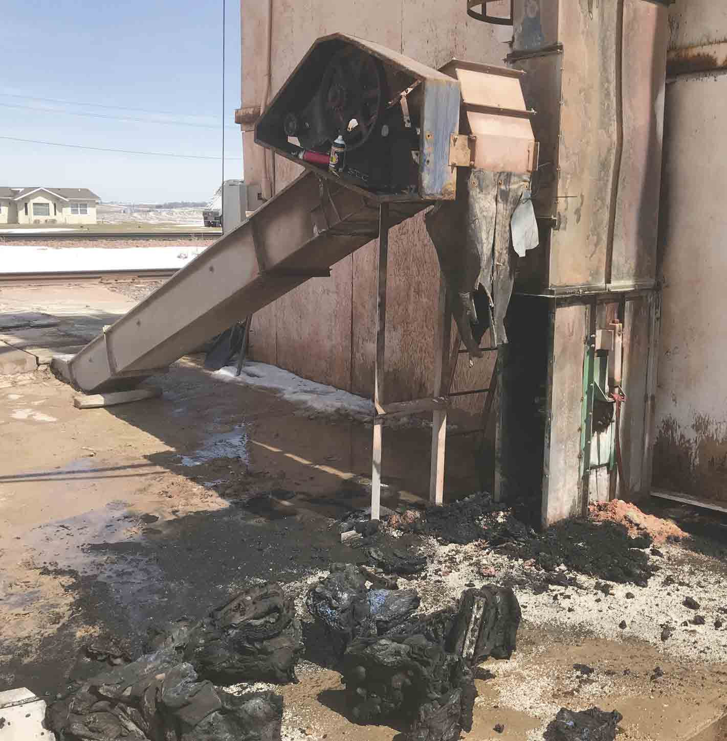 A fire broke out at the old fertilizer plant, which still contains fertilizer, owned by Farmers Union Co-op in Ossian on Friday afternoon. Due to the volatility of the situation and the number of children in close proximity to the blaze, students from DeSales School and DeSales Childcare...