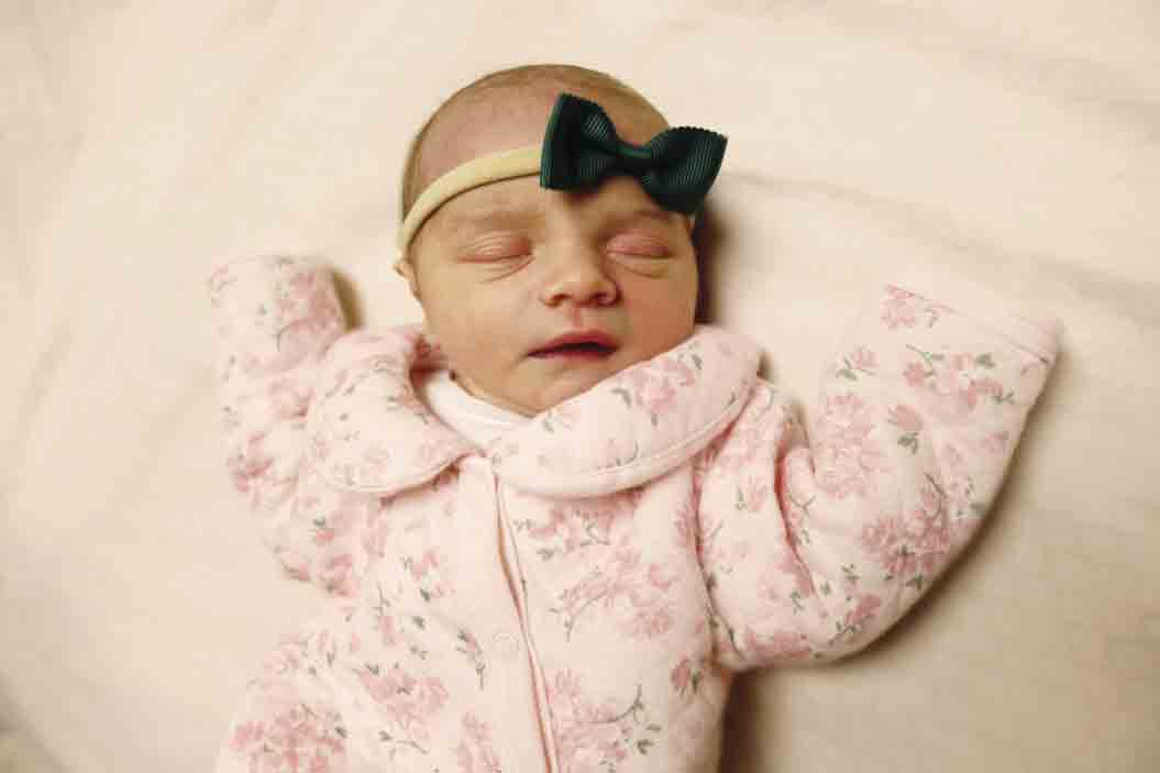 Lillian Hensley was the first baby born in the new year at Winneshiek Medical Center in Decorah. She was born at 7:25 p.m. on Jan. 5, weighing 6 pounds, 6 ounces and measuring 19 inches long. Lillian is the daughter of Matt and Katie Hensley of Waucoma. (submitted photo) 	Winneshiek...