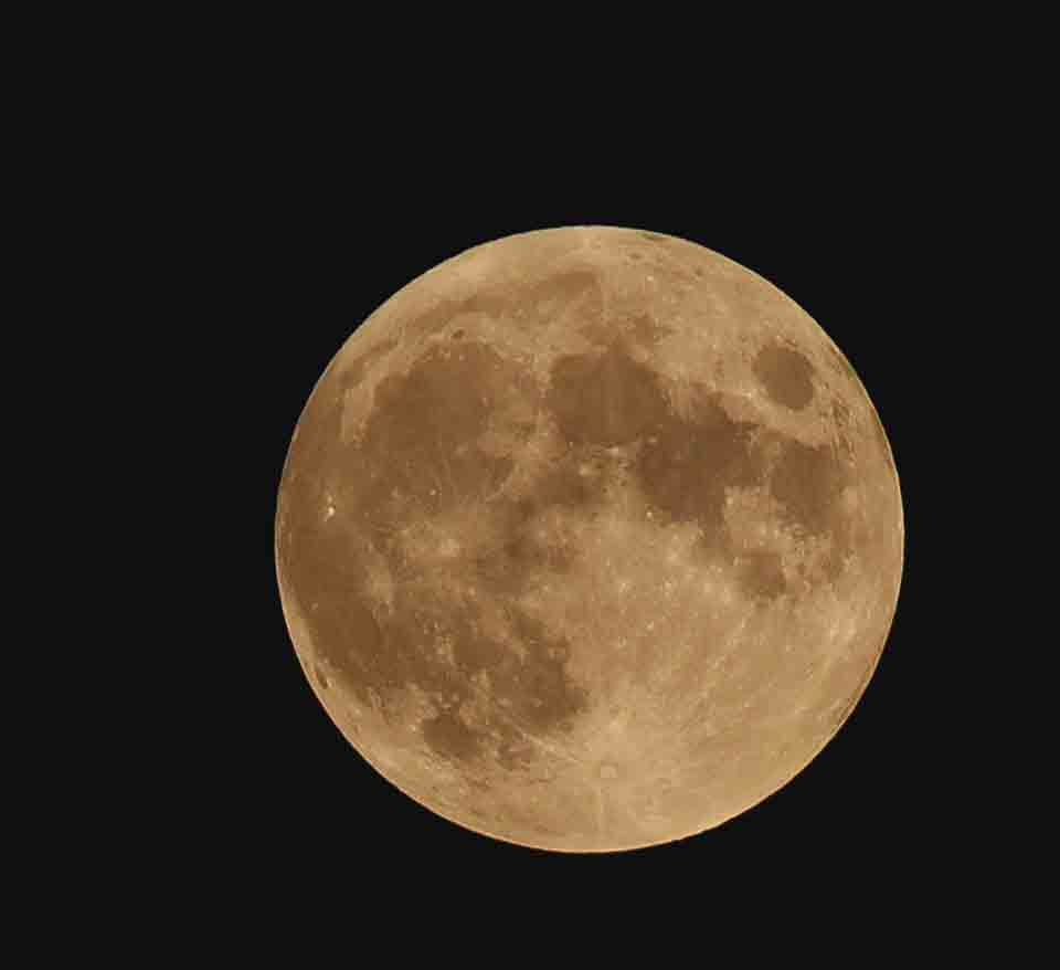 There was a visual treat in the sky July 4 with a full moon and a penumbral lunar eclipse. Photographer This is what Native Americans call the Buck Moon, named because it is the season that deer begin to regrow their antlers. A penumbral lunar eclipse is when the moon moves through the earth'...