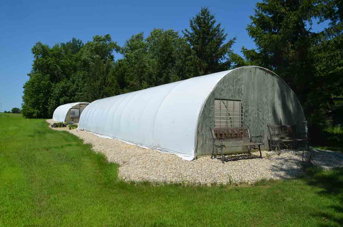 These two hoop houses owned by K&K Gardens are located on what is called South Street, a right-of-way owned by the City of Hawkeye. Hawkeye had given Keith Kovarik, owner of K&K Gardens, until July 30 to move the hoop houses; however, Kovarik claims that he was given permission many...