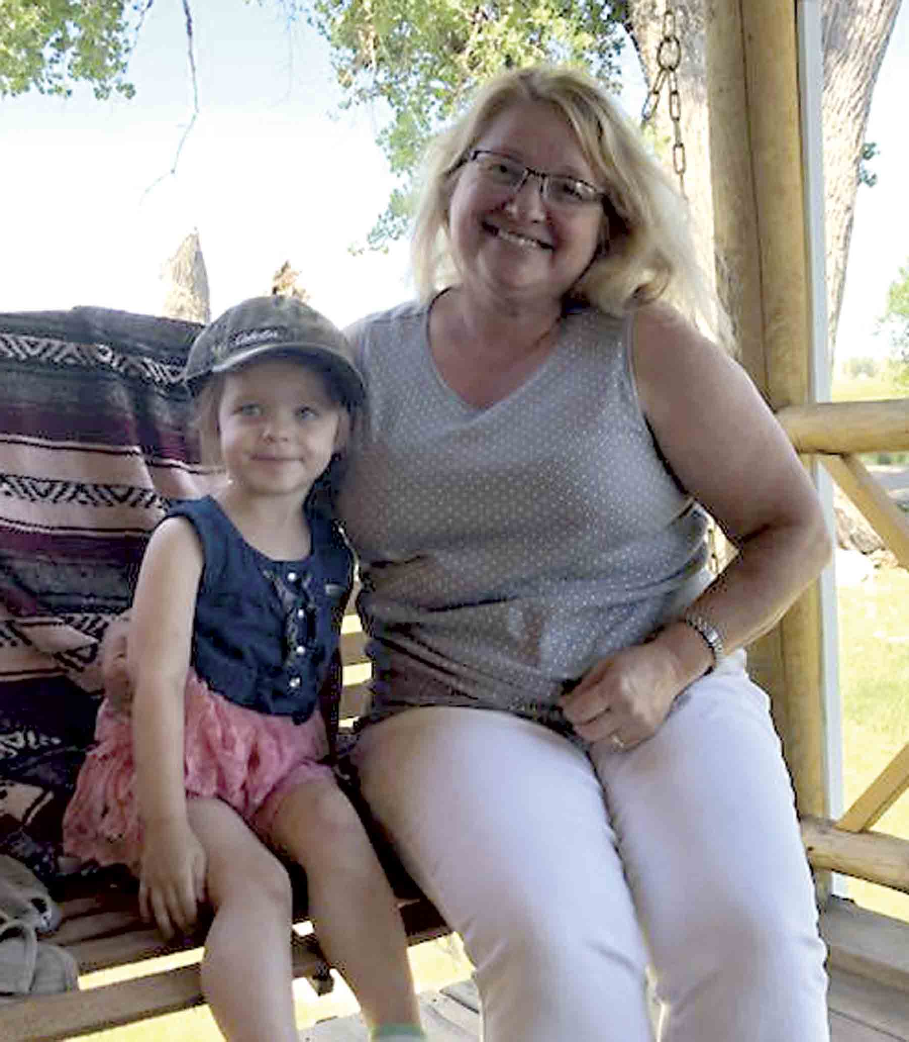 When Heidi Henriksen (right) and her granddaughter, three-year-old Lucy (left) were attacked by a dog at a relatives home, Heidi knew she was not only fighting for her life, but for Lucy's as well.  Heidi sustained multiple injuries in the attack, but thanks to her quick thinking...