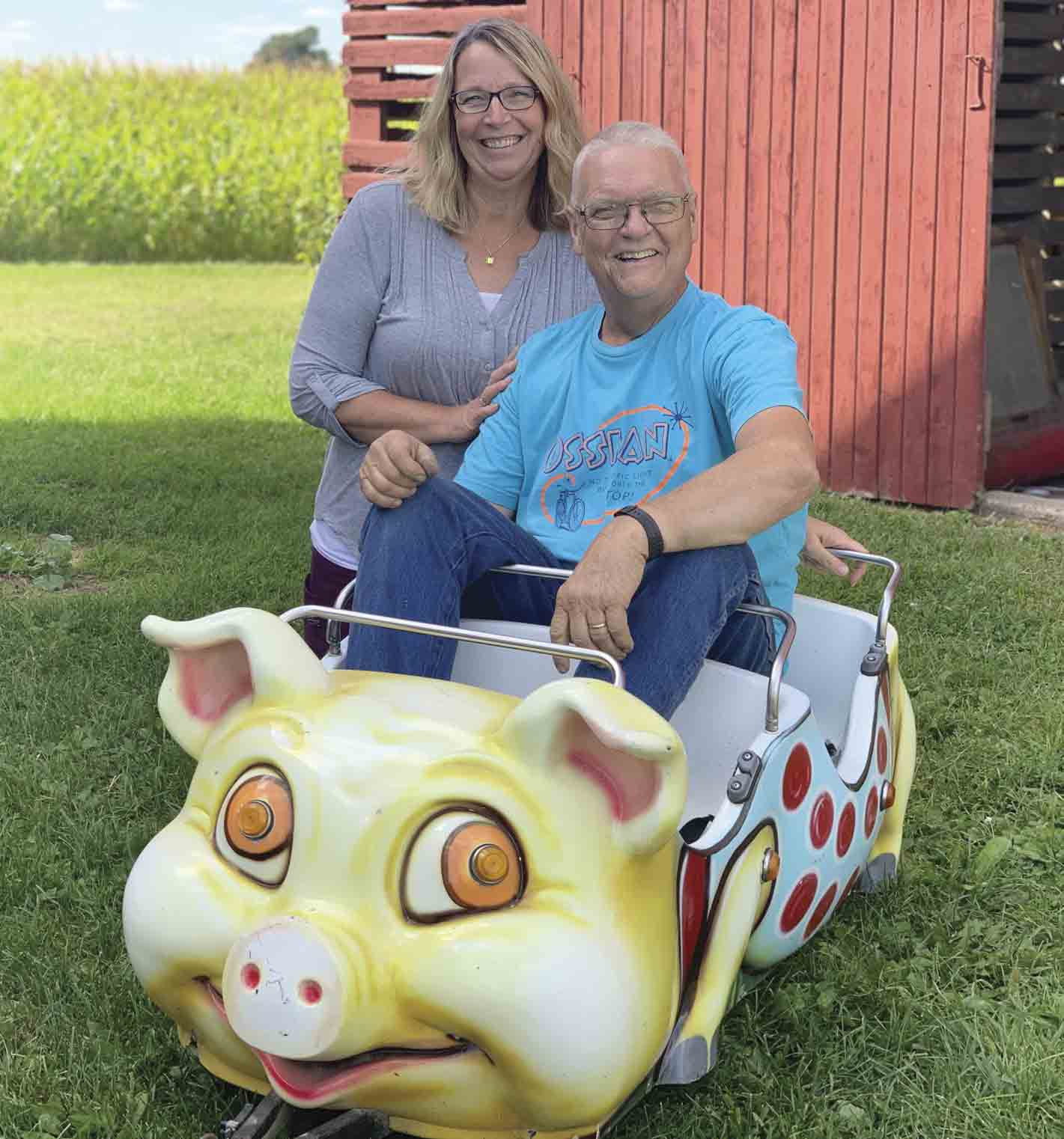 LaVerne and Julie Anderson of Ossian are saying 'thank you' the best way they know how on Saturday, Sept. 21, when they host Andyland Fun Day at their home (1732 160th Street). The event is LaVerne's way of thanking the community and the families of those who have supported him as...