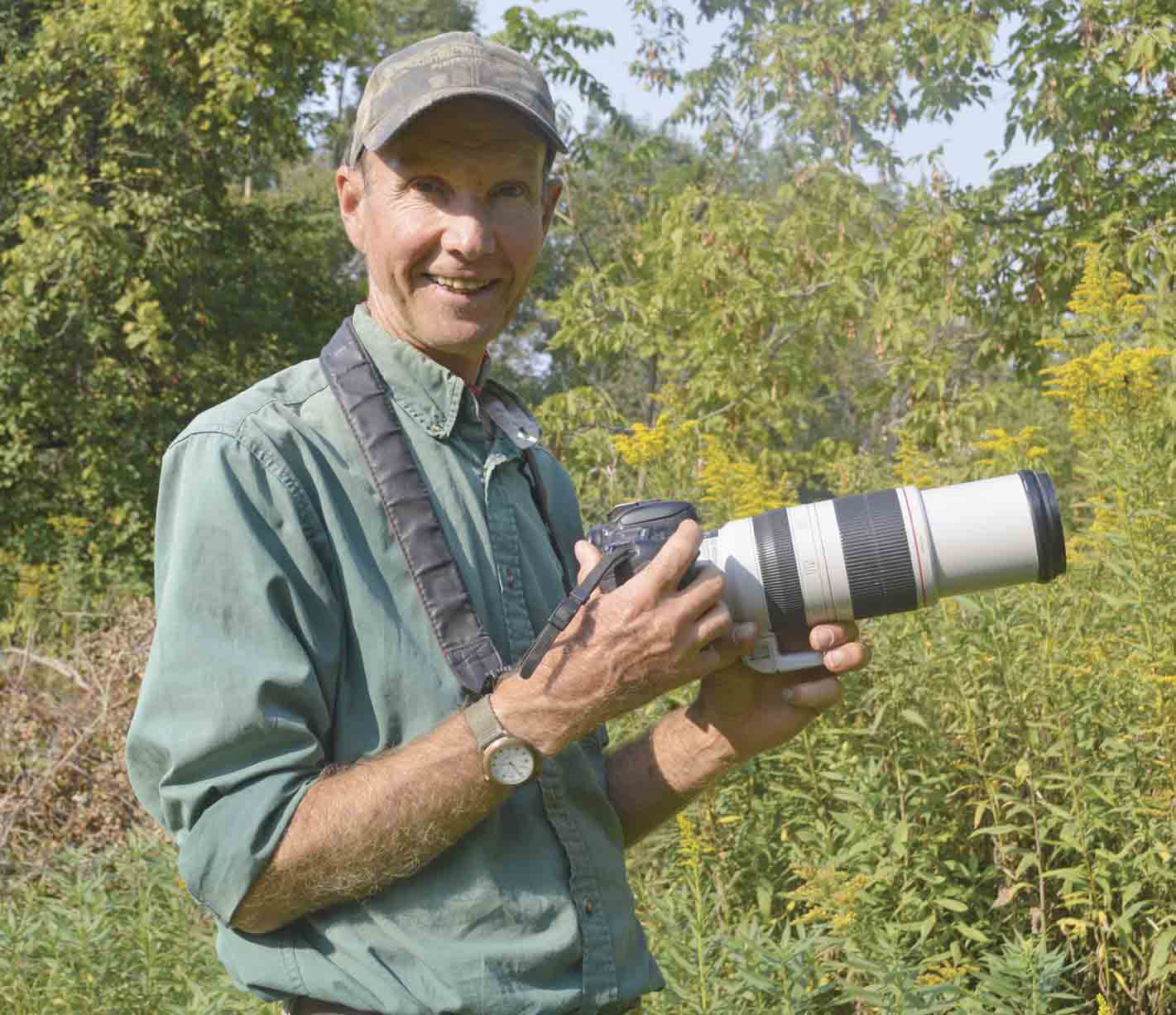 Larry Reis of Calmar was recently presented with the Outstanding Partner Award by Northeast Iowa Resource Conservation and Development for his dedication to natural resource interpretation, education, and photography. (Zakary Kriener photo)Reis receives Outstanding Partner...