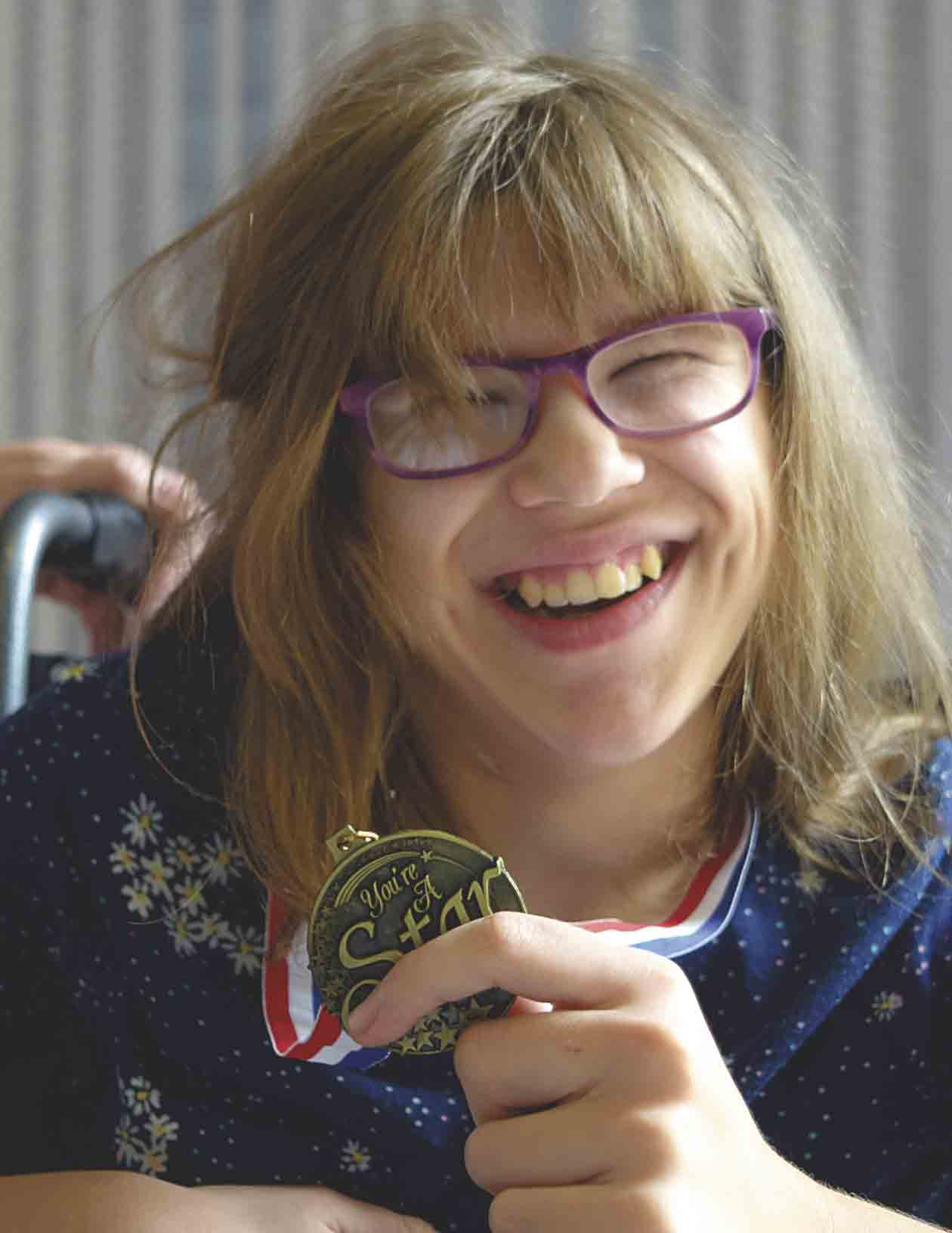 Kassidy Lenhart has faced many challenges in her young life.While her multiple surgeries and developmental delays are a part of her daily life, she has always kept a smile on her face while she stayed busy with multiple activities, including competing in the area Special...