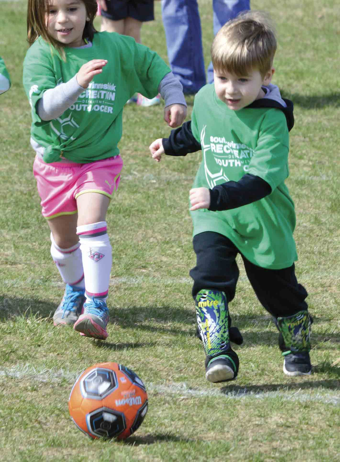 In 2018, the South Winneshiek Recreation Department offered a total of 20 different programs, including youth soccer. This year, program director Blake Moen and the rest of the board hope to continue expanding and offering more programs for both youth and adults. (Zakary Kriener photo)...