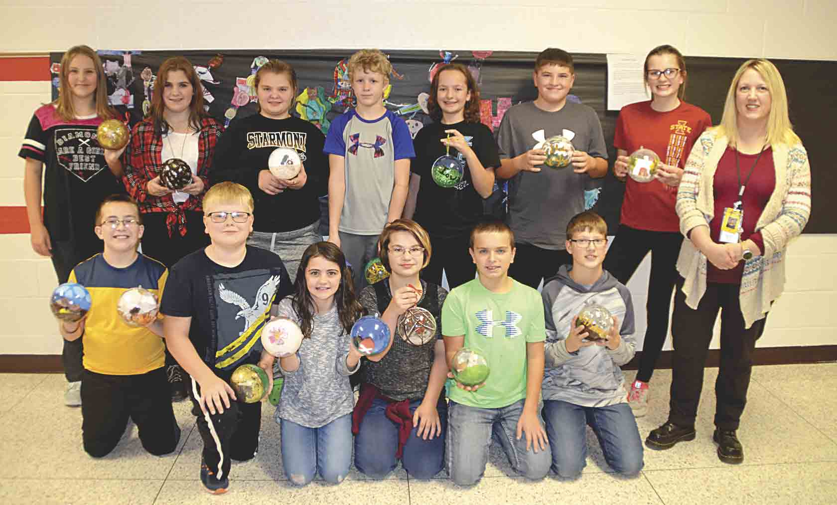 Students in Starmont Middle School's STEM Excellence in Leadership Program created 24 Christmas tree ornaments that will hang on smaller Christmas trees around the National Christmas Tree in President's Park in Washington, D.C. Starmont was one of 56 schools to be selected for...