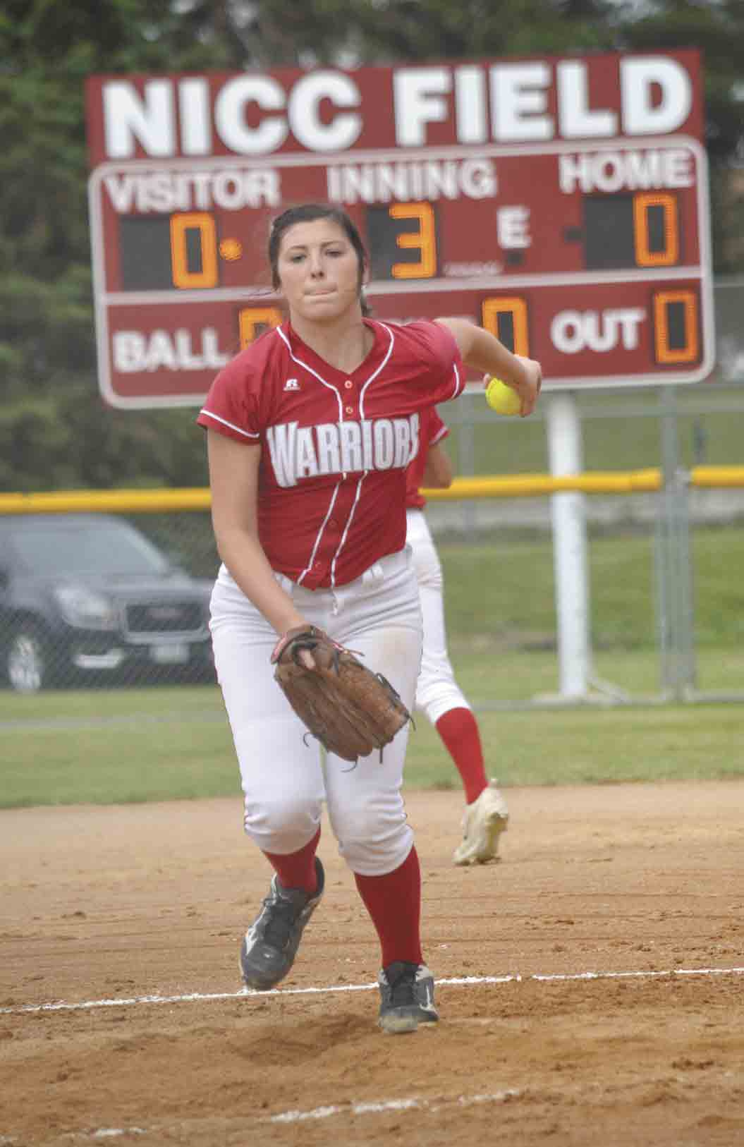 A five-year starter for the South Winneshiek softball team, Taylor Buchheit recently wrapped up her senior season with a giant milestone. The young pitcher achieved the 1,000 career strikeout mark, something accomplished by very few pitchers around the state. (Zakary Kriener photo)...