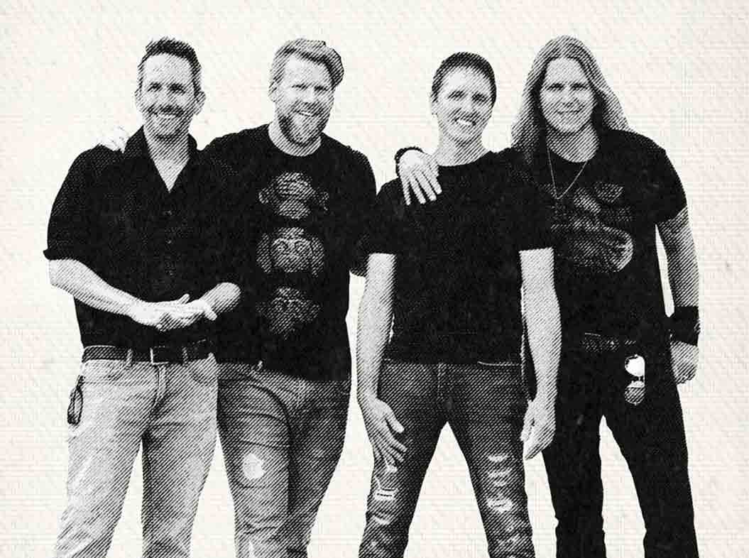 Members of The El Caminos band, which will be performing at Ossian Fest this year, include (l-r) Nick Lenzen, bass guitar; Jeffrey Bahr, drums; James Deeney, vocals; and Jason Herman, guitar. (submitted photo)Ossian Fest to feature The El CaminosZakary KrienerNews Writer...