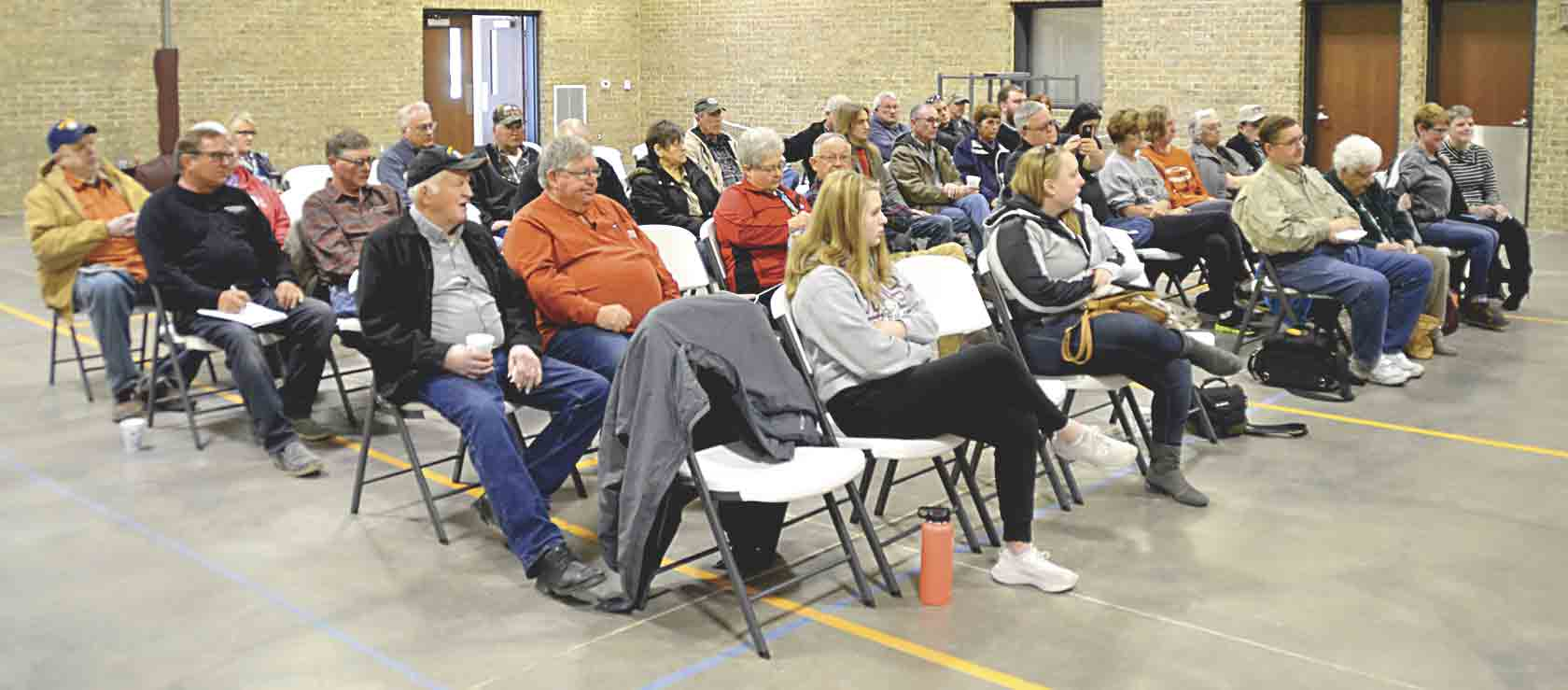 Numerous area residents attended the final Farm Bureau Legislative Town Hall meeting of the year on Saturday, March 16, in Arlington. Representatives attending the meeting were Bruce Bearinger, Iowa House District 64; Craig Johnson, Iowa Senate District 32; Michael Bergan, Iowa House...