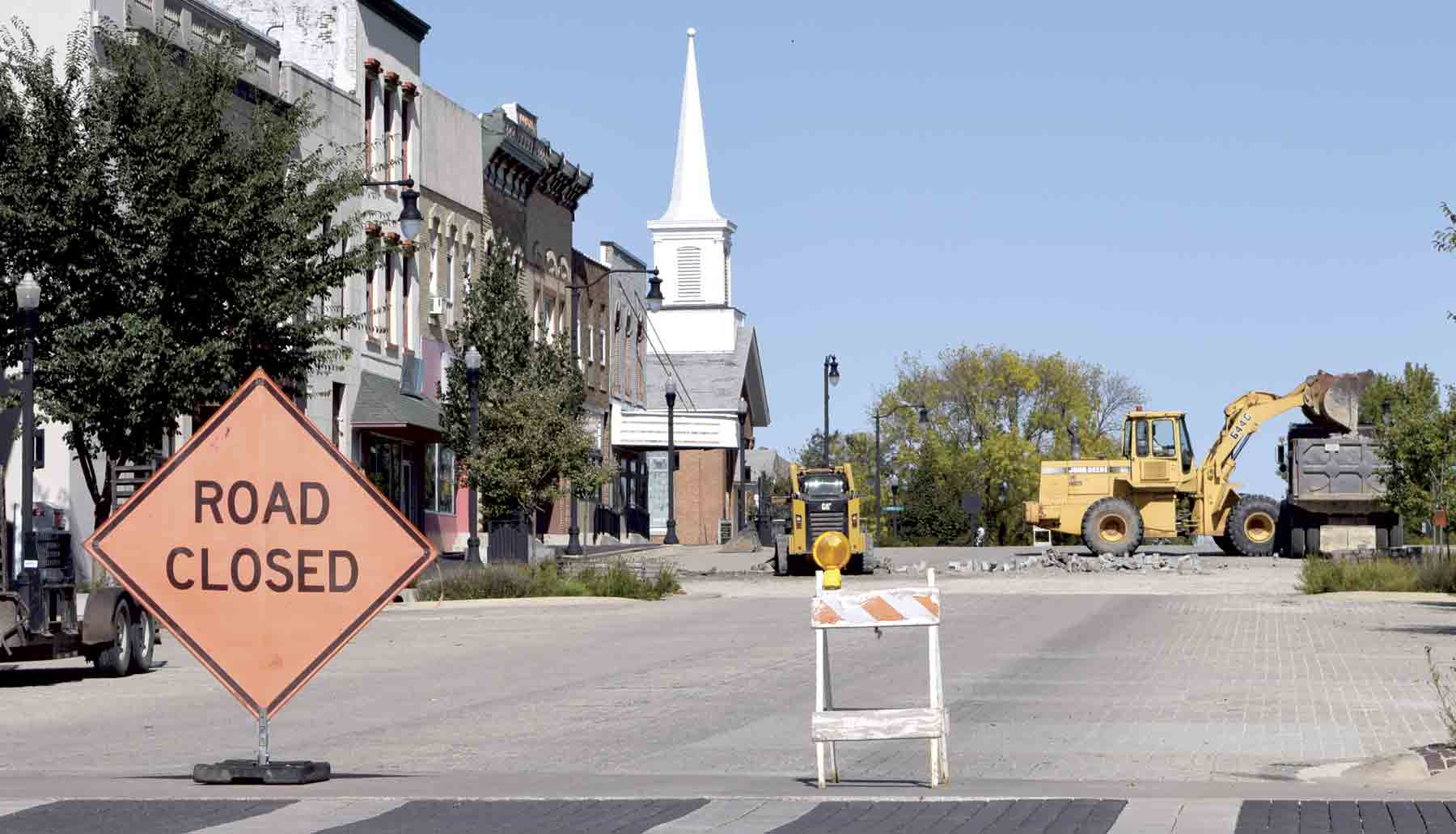 A portion of Vine St. in downtown West Union will be closed off for the next two weeks for paver replacement.The pavers, which were part of West Union's Streetscape project began breaking shortly after installation.After multiple requests for replacements to the...