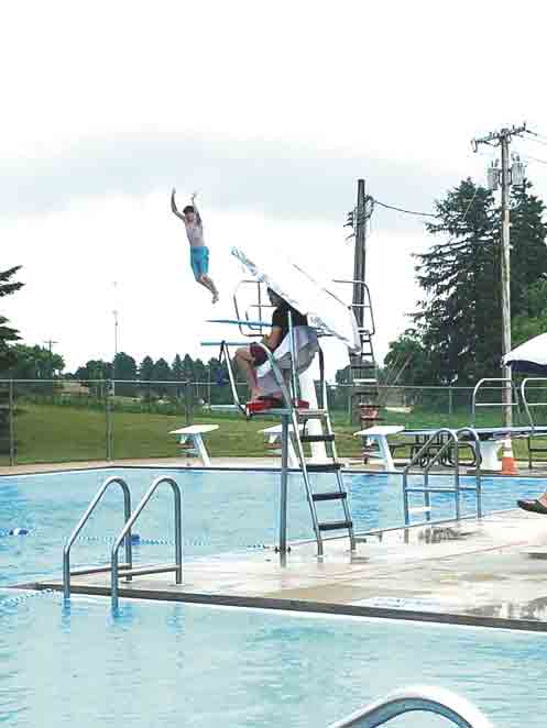 """The Calmar Pool is now open, however there are certain safety practices in place that swimmers are asked to observe in order to use the pool. (Submitted photo)The Calmar Swimming Pool is now open""""Because we have added safety measures to take, this year our hours are..."""