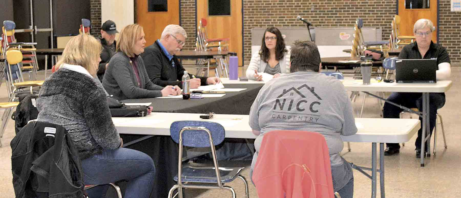 The North Fayette Valley school board met for a special meeting on Wednesday, March 18 at the North Fayette Valley high school.  Just three days into the statewide school shut down, the members voted to continue paying hourly employees during the unprecedented COVID-19 outbreak....