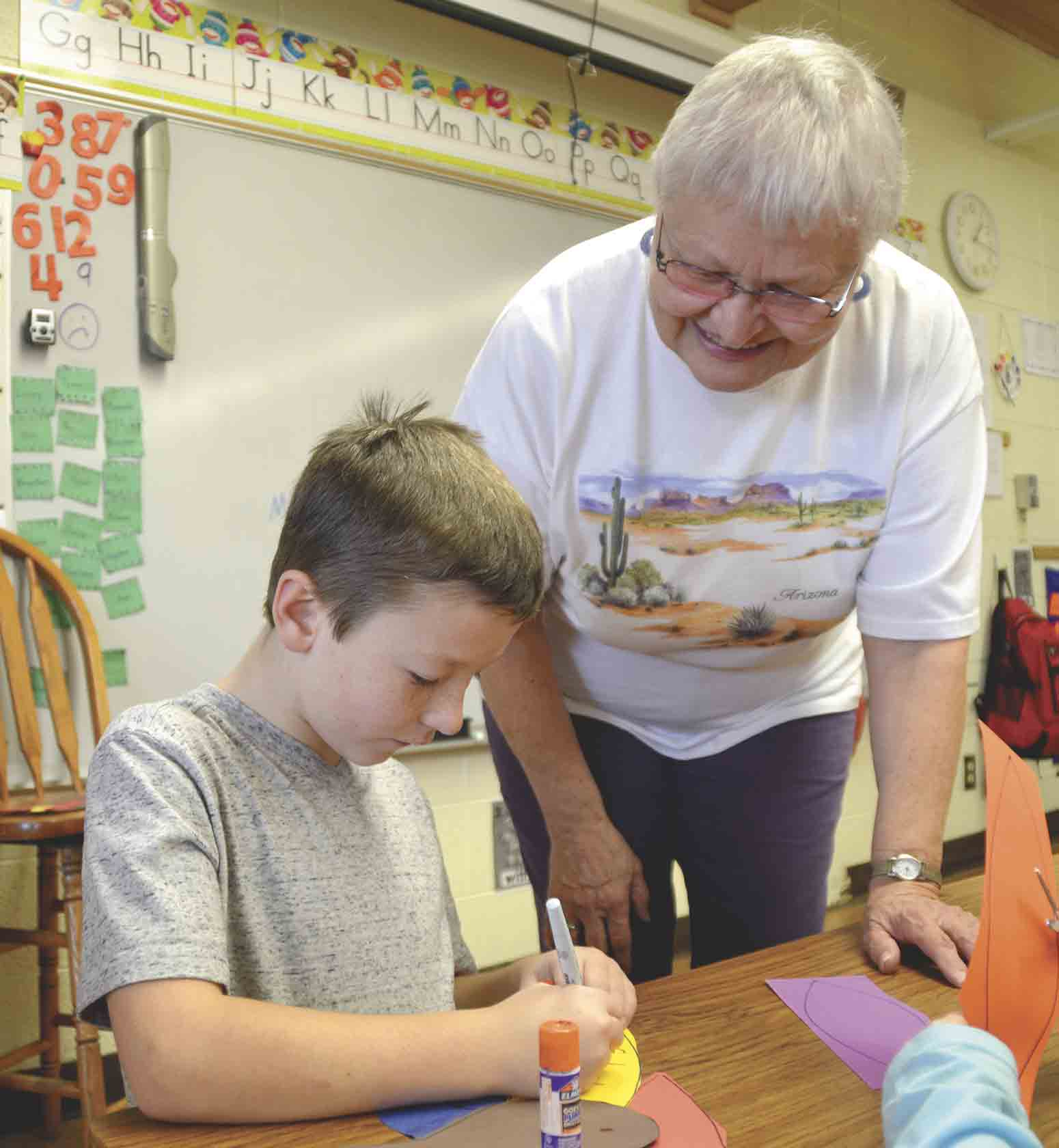 """Rural school districts have had many challenges to face in 2017, including a shortage of substitute teachers to choose from when a teacher comes down with a sudden illness. There are plenty of days when Travis Elliott, West Union Elementary principal, needs to """"flex"""" his staff..."""