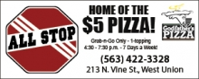 Home of the $5 Pizza! - All Stop Convenience Store